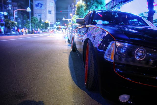 2014年6月21日撮影!秋葉原痛車ストリート(3代目ダッジ・チャージャー)