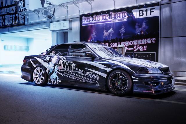 2014年6月27日・7月6日撮影!秋葉原痛車ストリート(アイドルマスター・JZX100型マーク2ツアラーV(TeamGRACE))