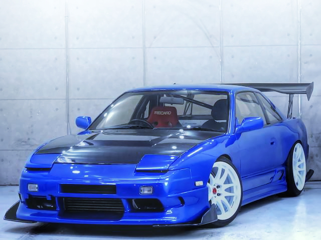 GT-RSタービン!ワイドボディ仕様!S13シルビアK'S改ワンビア&痛車編!オートジャンボリー2014の様子動画