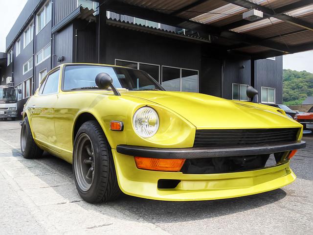 国内販売!V8型327ciエンジン搭載!S30型ダットサンZ&草ヒロC10型ハコスカ放置車両の動画