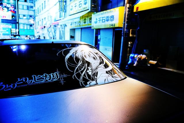 2014年6月27日撮影!秋葉原痛車ストリート(いろとりどりのセカイ・CL1型アコード・ユーロR)