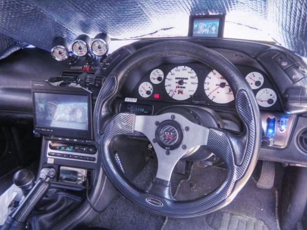 VeilSideワイドブリスターボディ!BNR32スカイラインGT-R&2JZ改ビッグシングルTB!前期S14型240SXの動画