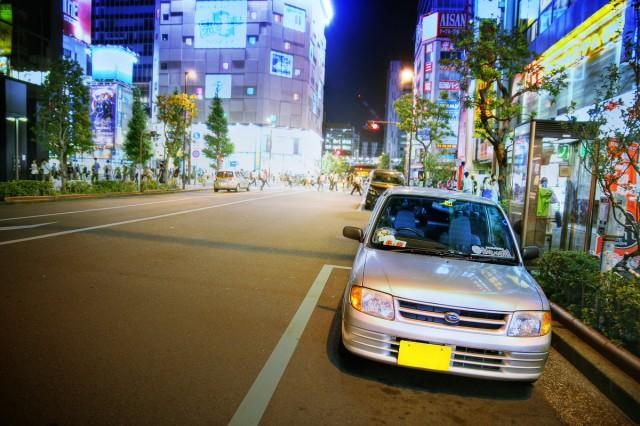 2014年8月15日コミケ86初日終了後!秋葉原痛車ストリートその1(ミラバン・痛単車ニンジャ・Z33ロードスター・インプレッサワゴン)