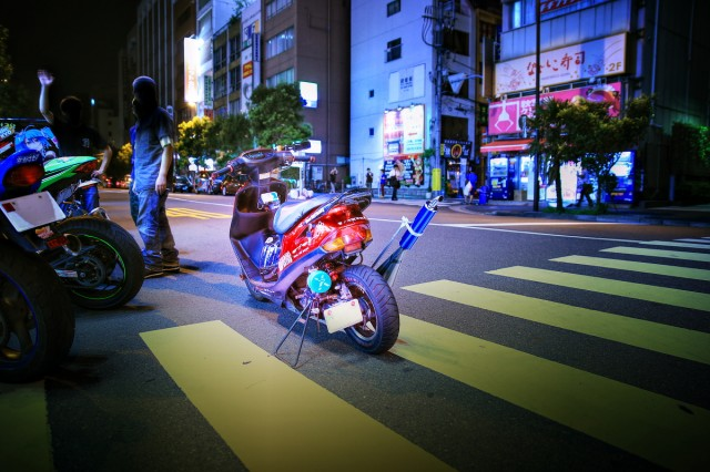 2014年7月26日撮影!秋葉原痛車ストリート(痛単車・カスタムバイク)