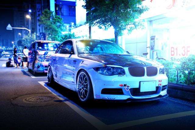 2014年7月26日撮影!秋葉原痛車ストリート(AngelBeats!仕様E82型BMW135i)