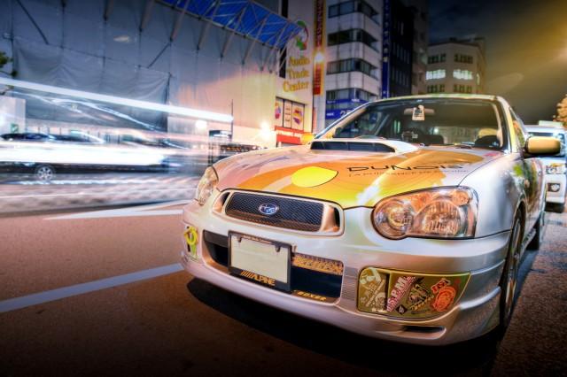 2014年8月22日撮影!秋葉原痛車ストリート(ISインプワゴン/トヨタVOXY/スイフト/BMW130i)
