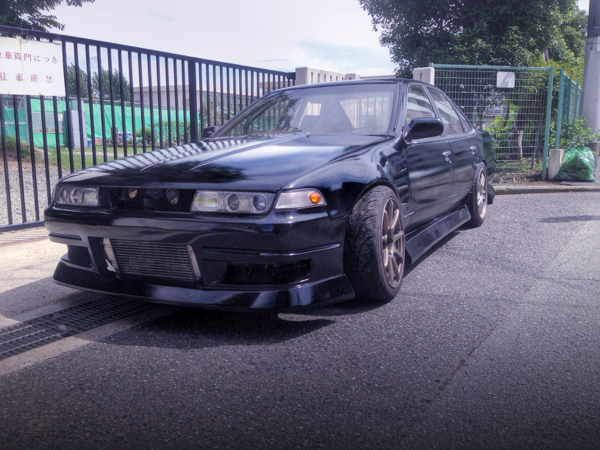 日産SR20DETエンジン換装公認!ドリフト仕様A31型セフィーロ&1JZシングルTB仕様!E36型BMW3シリーズの動画