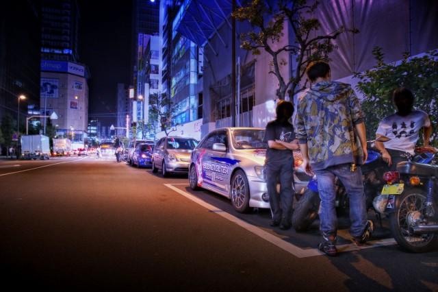 2014年8月15日コミケ86初日終了後!秋葉原痛車ストリートその2(トヨタ・アルテッツァ/ダイハツ・タントエグゼ)
