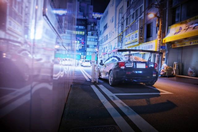 2014年8月24日撮影!秋葉原痛車ストリート(ラブライブ!小泉花陽T230型セリカ)