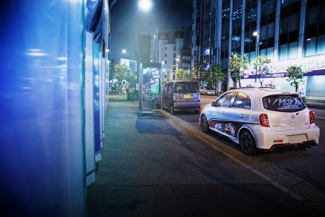 2014年9月12日撮影!秋葉原痛車ストリート(ラブライブ!南ことり仕様・K13日産マーチNISMO・S)