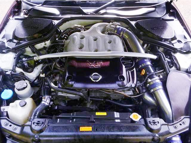 VQ35DE改GT3037ウエストゲートターボ!Z33フェアレディZ&掲載車両!?Z33ターボの動画