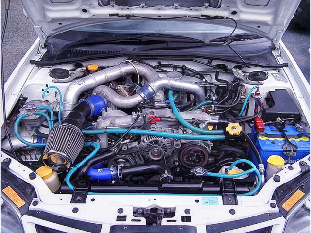 EJ25エンジン換装TD06ウエストゲートターボ!MOTEC制御!GDB型インプレッサWRX・STi