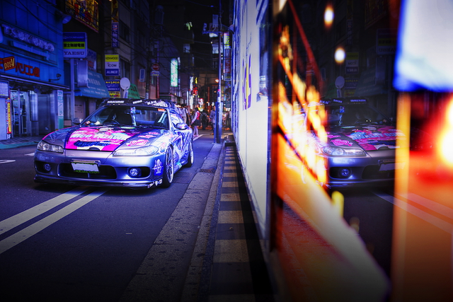 2014年9月12日撮影!秋葉原痛車ストリート(ラブライブ!矢澤にこ仕様S15シルビア(ゆーたさん))