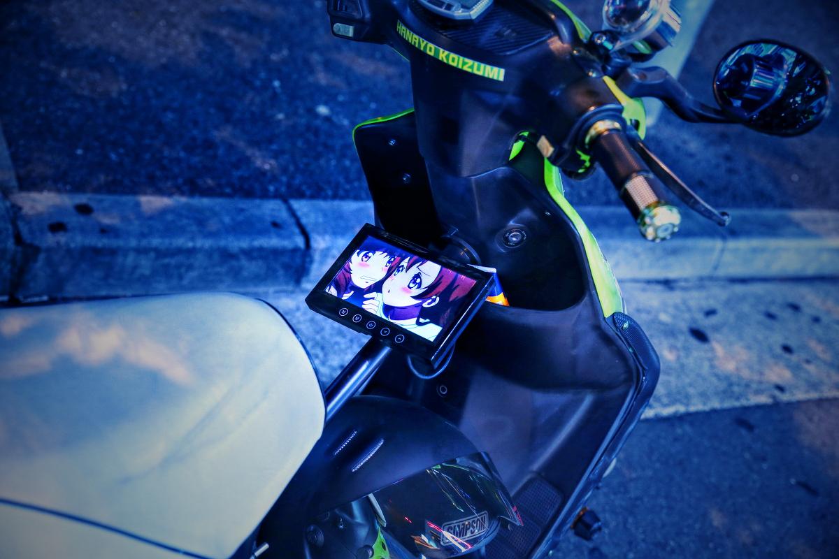 2014年8月24日撮影!秋葉原痛車ストリート(ラブライブ!小泉花陽仕様(肉汁王子さん))
