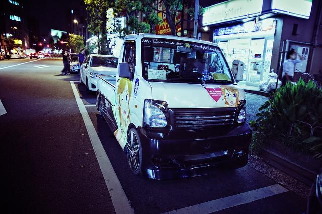 2014年9月12日撮影!秋葉原痛車ストリート(俺の妹がこんなに可愛いわけがない/スズキ・キャリイ)
