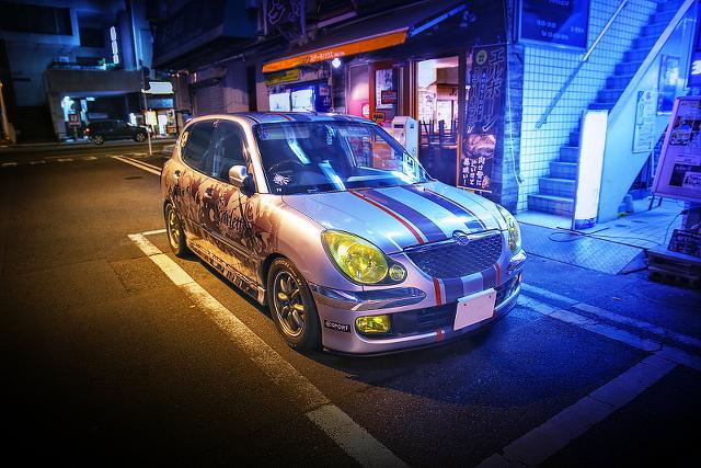 2014年8月31日撮影!秋葉原痛車ストリート(スカーレット~日常の境界線~・ストーリア)