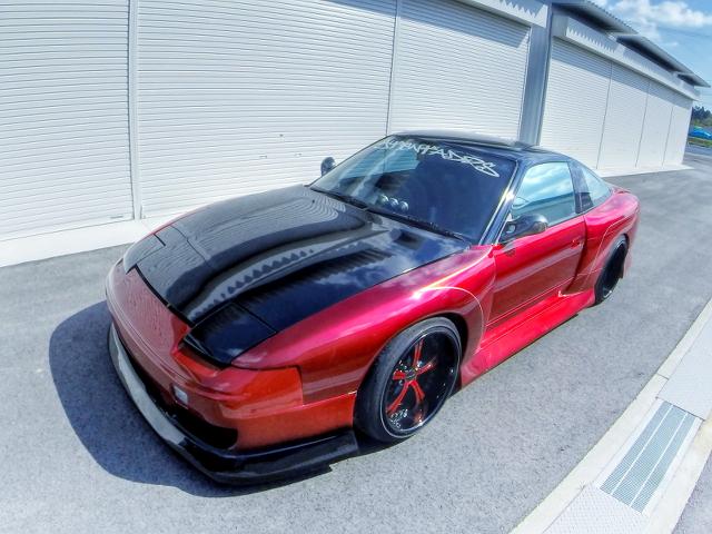 90用1JZ改GT2835PROタービン!BNワイドボディ!日産180SX&BEEレーシング34顔!R32GT-Rの動画