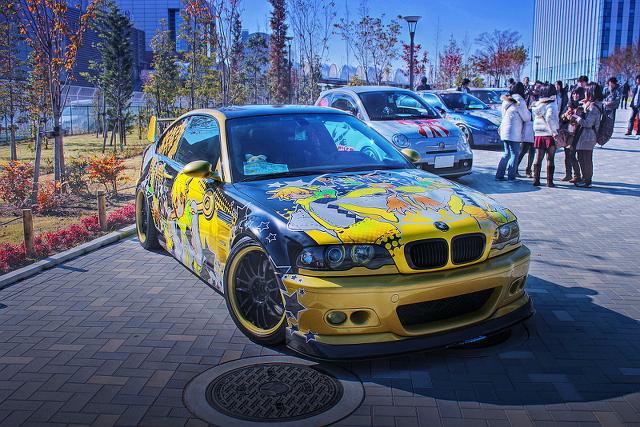 2013年11月24日撮影!お台場モーターフェス(アウディA6・E46型BMW・986ボクスター・E46型BMW)