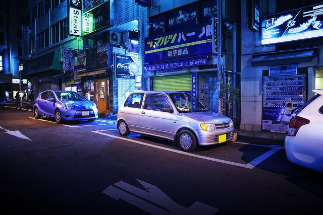 2014年9月12日撮影!秋葉原痛車ストリート(ラブライブ仕様!ミラバン・70スープラ・CB400SF)
