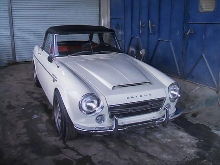 SR20DEエンジン改4連スロットル!ローウィンドウSRL311ダットサンフェアレディ&1967年!2代目S50型スカイラインのCM動画