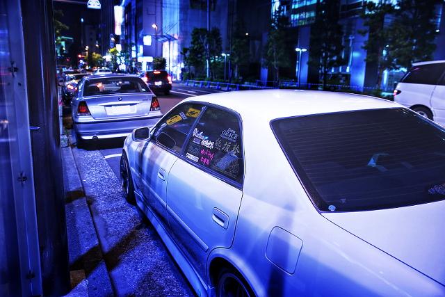 2014年9月20日撮影!秋葉原痛車ストリート(榊原ゆい(ゆいにゃん)仕様JZX100型トヨタチェイサー)