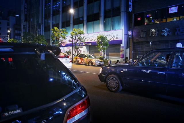 2014年9月26日撮影!秋葉原痛車ストリート(インプレッサワゴン・BMW130i・F50プレジデント・80スープラ)