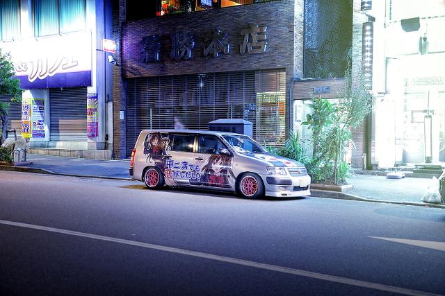 2014年10月17日撮影!秋葉原痛車ストリート(サクシード/スイフト/S15シルビア/200ハイエース)