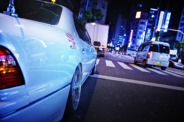 2014年9月26日撮影!秋葉原痛車ストリート(Team・ColorFuL後期20セルシオ)