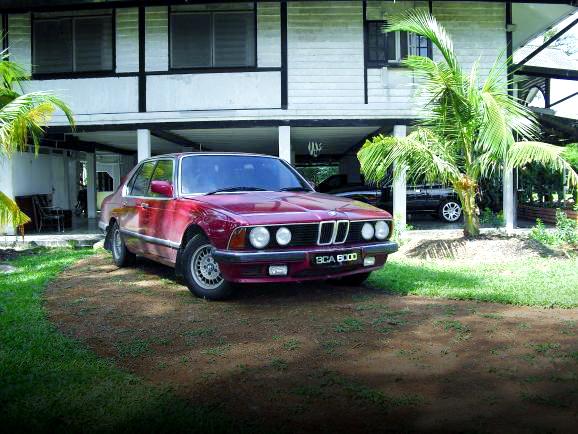 (マレーシア)トヨタ1G-GTEツインターボEG移植!E23型BMW7シリーズ&ランエボ3エンジン移植!KE70カローラの動画