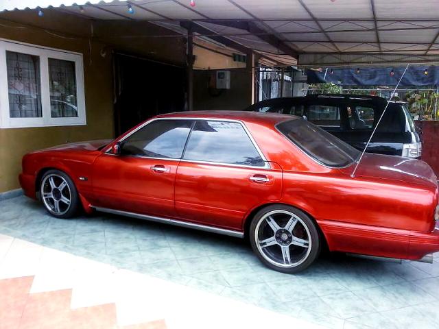 (マレーシア)1JZ-GTEツインターボエンジン移植!Y32グランツーリスモ顔!Y31日産シーマ