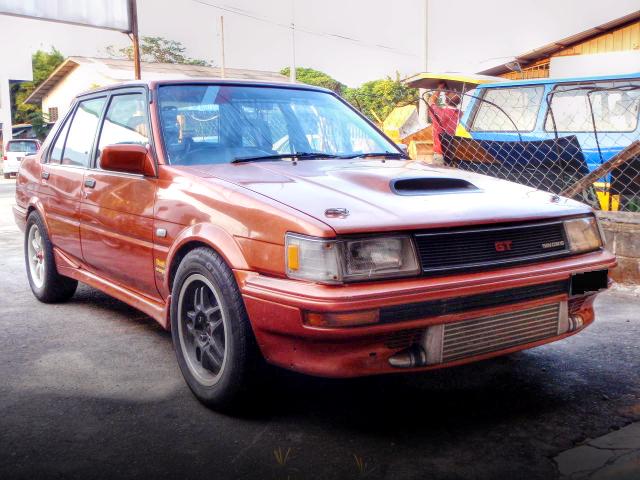 (マレーシア)4AGZE改GT3037ウエストゲートターボ!初代E80カローラセダン&K24改GT35Rタービン仕様EKシビックの動画
