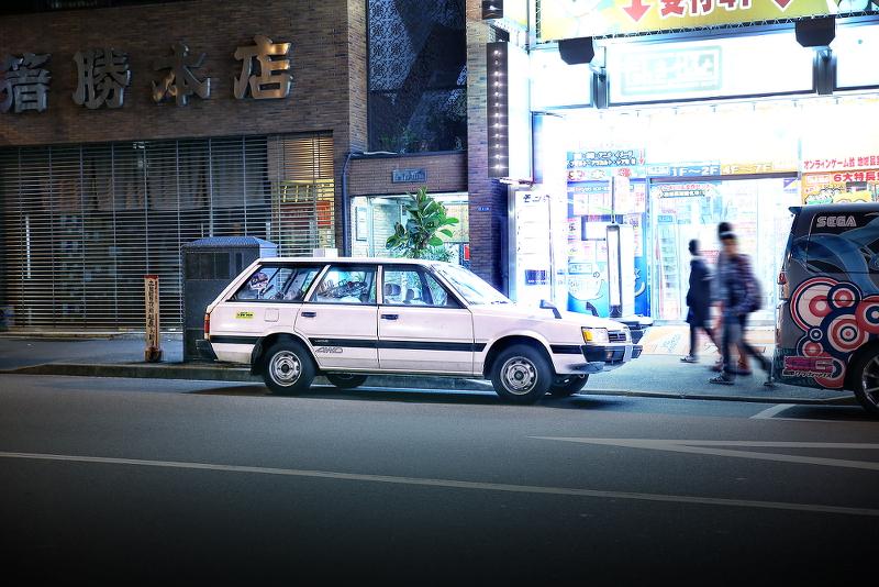 2014年11月15日撮影!秋葉原痛車ストリート(スバル・レオーネ/ホンダ・ライフ)