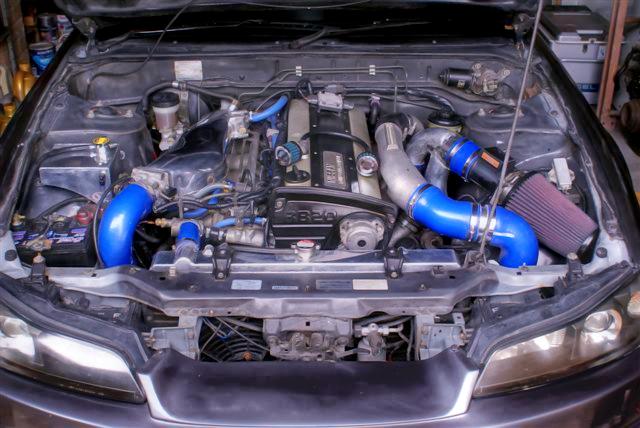 (AU)RB20DETエンジン移植GTR用N1ツインターボ仕様!S15シルビア顔!日産180SX