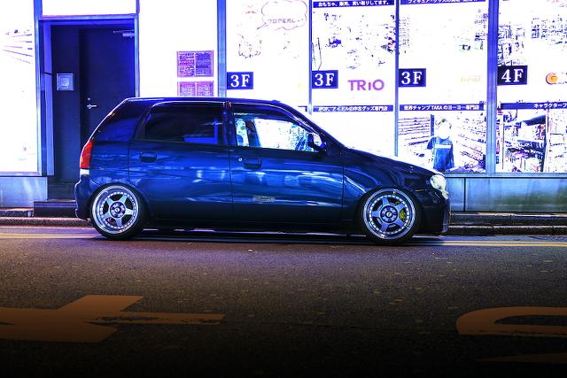 2014年11月2日撮影!秋葉原痛車ストリート(アルト5ドア・コペン・にこまきVOXY・Y34グロリア)