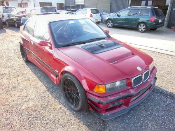 M52系3.2Lエンジン移植ウエストゲートターボ!F50ブレンボ!E36型BMW318ti&LS2エンジン換装FD系RX-7の動画