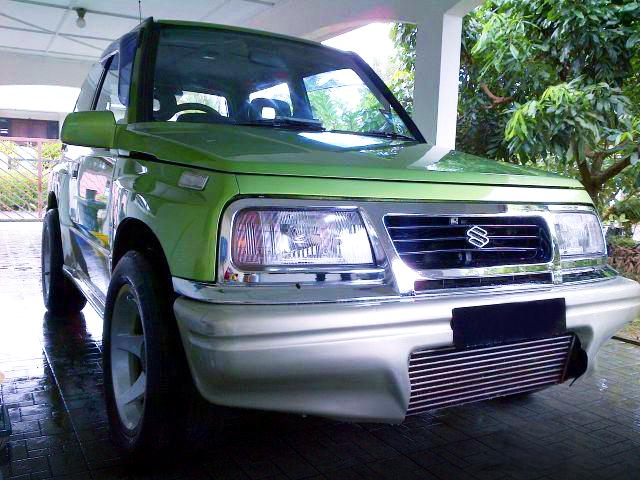 (マレーシア)S14用SR20DETターボエンジン移植!初代スズキ・ビターラ(エスクード)