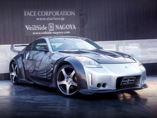 映画ワイルドスピードX3東京ドリフト・D.K.レプリカ!ガルウイング仕様Z33日産フェアレディZ