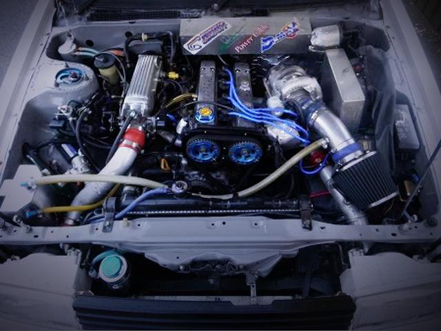 S15タービン装着!4AGターボ仕様!AE86カローラレビン&RB25DETエンジン換装S14日産240SXの動画