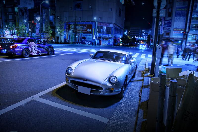 2014年12月12日撮影!秋葉原痛車ストリート(TVRサーブラウ)