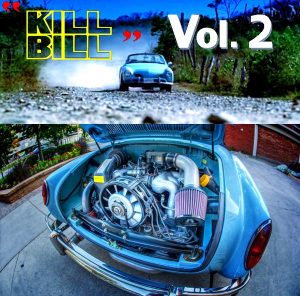 (海外)映画キルビル2劇中車!930ポルシェ911用3.2Lエンジン換装!VWカルマン・ギア&映画キルビル2のCM動画