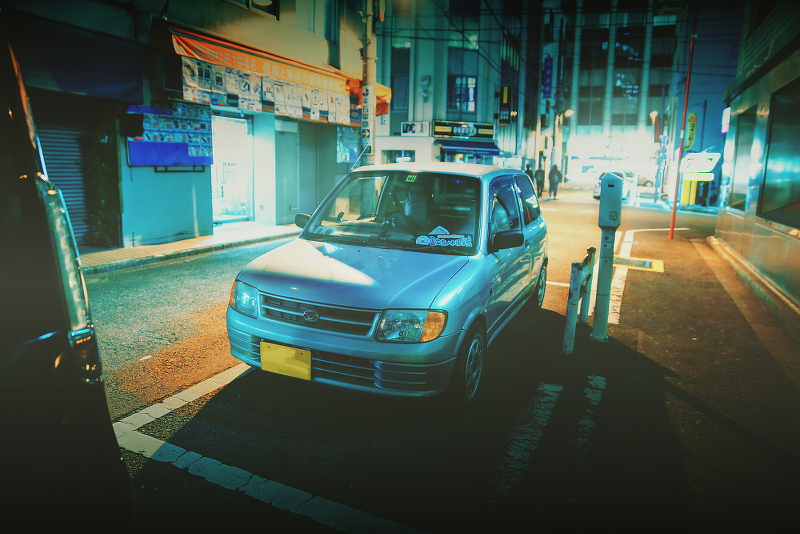 2014年12月12日撮影!秋葉原痛車ストリート(ダイハツミラ(チームUEXUS)/BMW130i(まっちさん))