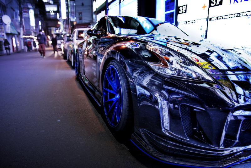 2014年12月6日撮影!秋葉原痛車ストリート(VARIS公認デモカーZ34フェアレディZ(ぴっつさん))