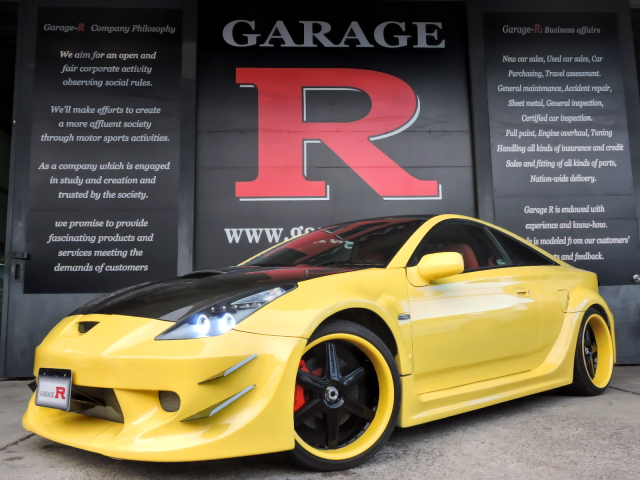 APR製GT300ワイドボディ!トランクウーファー!ZZT231トヨタ・セリカSSⅡ&アウディ用EG搭載ムルシエラゴレプリカの動画