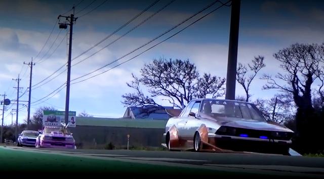 (海外)600馬力2JZ-GTE改シングルビッグタービン仕様!S14日産240SX&2015年ニューイヤー街道レーサー動画