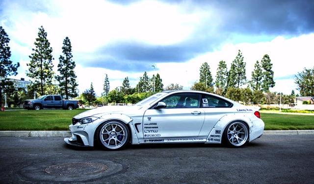 (海外)SEMAショー2014出展!LBワークスワイドボディ!F82型BMW・M4クーペ