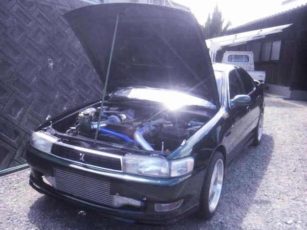 1.5JZエンジン改3.1L仕様GT3540タービン!JZX90クレスタ・ツアラーV&初日の出街道レーサー動画