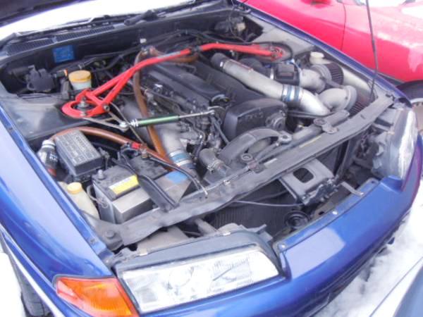 (部品取り丸車販売)RB26DETTエンジン換装!34Rブレンボブレーキ!HCR32日産スカイライン