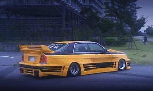 街道レーサー仕様!17マジェ用リアテール移植!150クラウンマジェスタ&LS3換装S15カーボンボディ!S14の動画