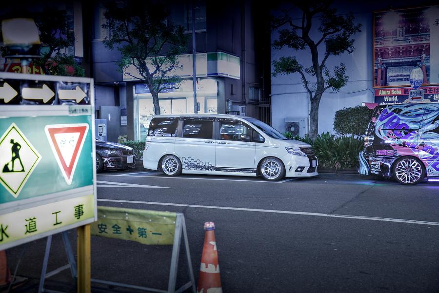 2015年2月20日撮影!秋葉原痛車ストリート(艦これ・大鳳/ホンダ・ステップワゴン)