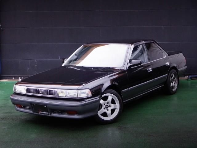 5速マニュアル化!黒銀1JZターボモデル!JZX81トヨタ・クレスタ